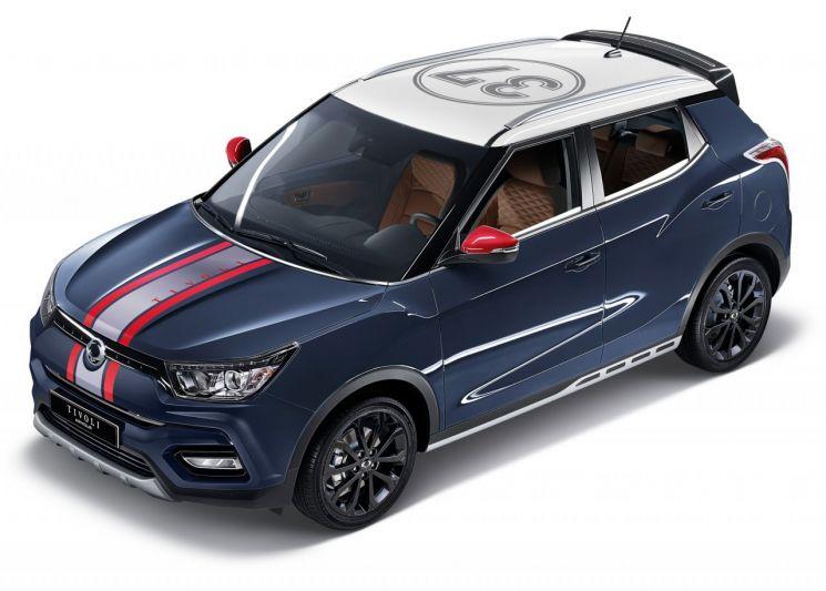소형 SUV 돌풍 이끄는 쌍용차 티볼리