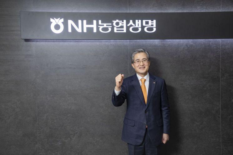 [아시아초대석]홍재은 NH농협생명 대표는