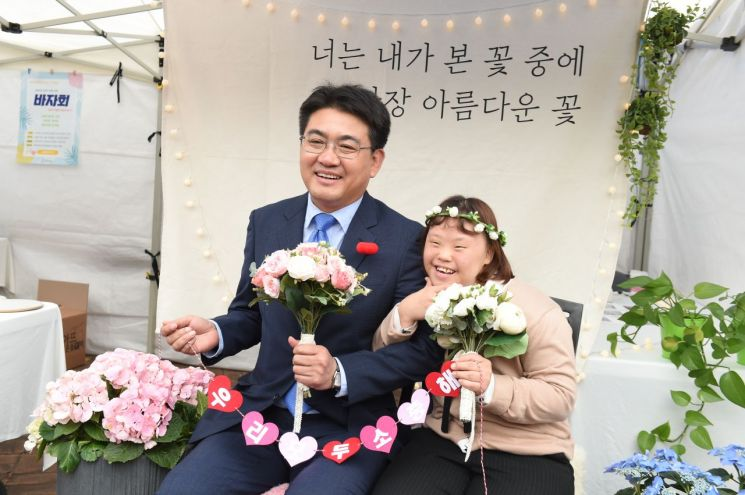 [포토]오승록 노원구청장, 제39회 장애인의 날 기념식 참석