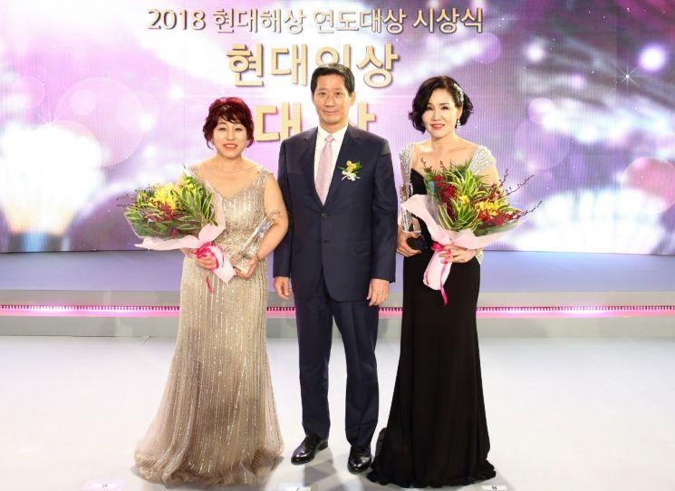현대해상, 2018 연도대상 시상식...김경애·남상분씨 대상