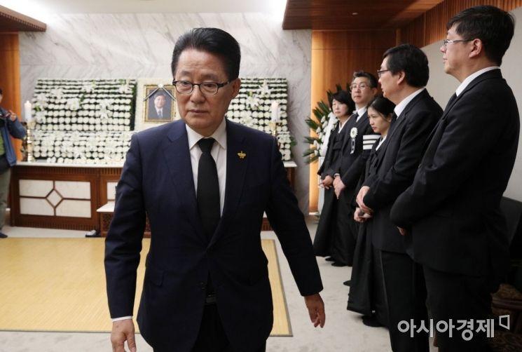 [포토] 조문 마친 박지원 의원
