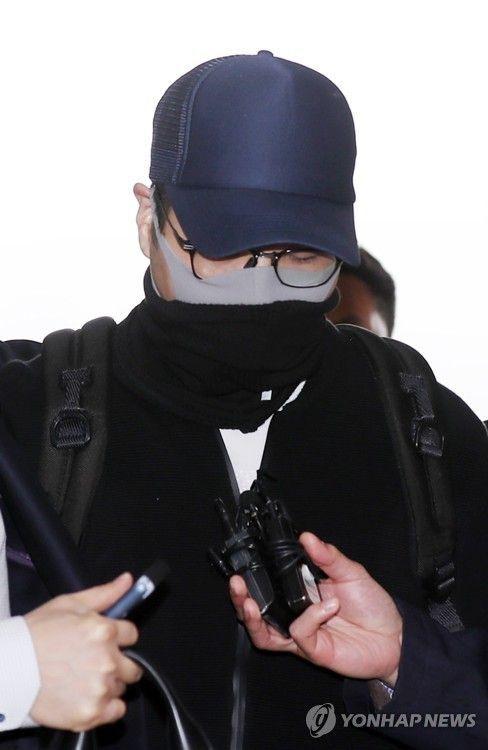 마약 투약 혐의로 체포된 현대그룹 3세 정모씨 [사진=연합뉴스]