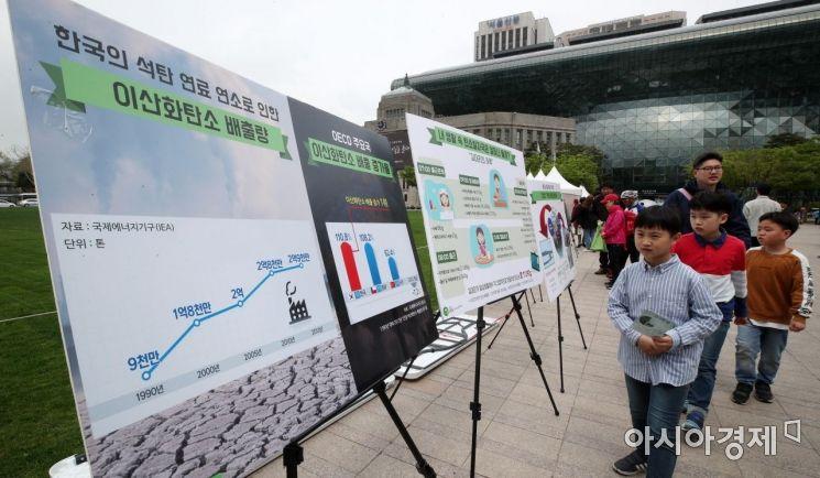 [포토] 한국의 이산화탄소 배출량은?