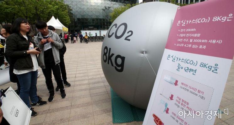 [포토] 온실가스 8Kg은?