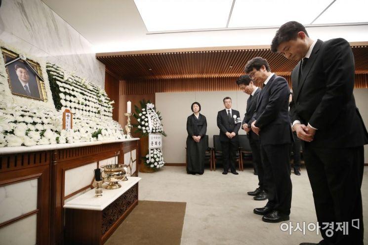 故김홍일 전의원 장례 '4일 가족장'…국립묘지 안장은 미정