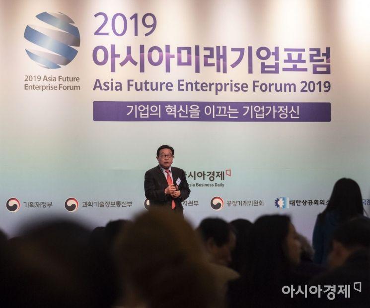 [포토] 강연하는 손동원 교수