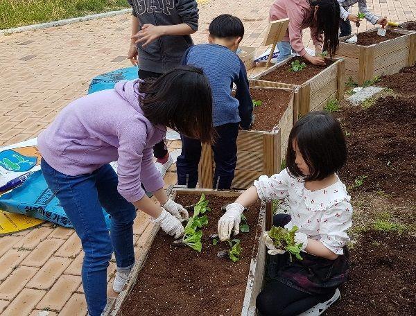 나주시, 학교 텃밭 조성 사업 본격 운영