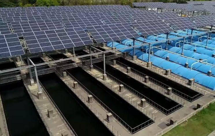 서울 물재생센터의 모습. 물재생센터는 하수처리도 하지만 에너지도 생산합니다. [사진=유튜브 화면캡처]