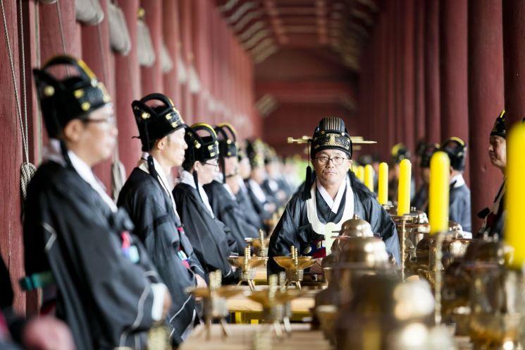 인류무형문화유산 종묘대제 내달 5일 봉행