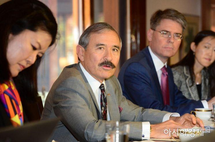 [포토]기자간담회 연 해리 해리스 주한 미국대사