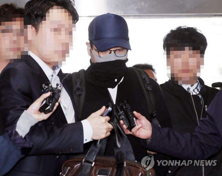 마약투약 혐의로 체포된 현대그룹 3세 정모씨 [사진=연합뉴스]