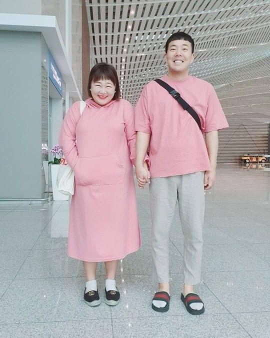 코미디언 홍윤화·김민기 / 사진=홍윤화 인스타그램