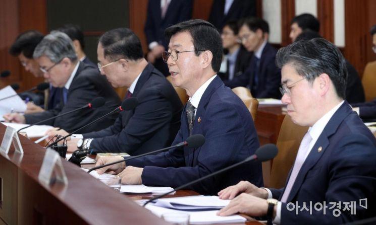 [포토] 발언하는 문성혁 해수부 장관