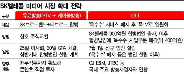 SKB+티브로드, 이달 주식매매계약…합병법인 출범에 속도