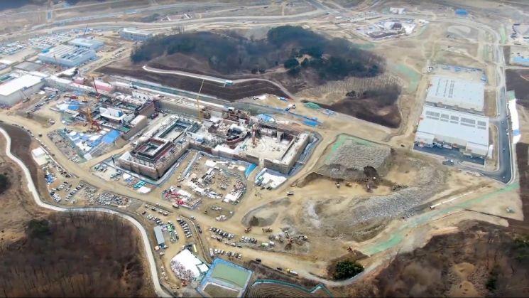 국제과학비즈니스벨트 거점지구 신동(대전) 라온 건설현장