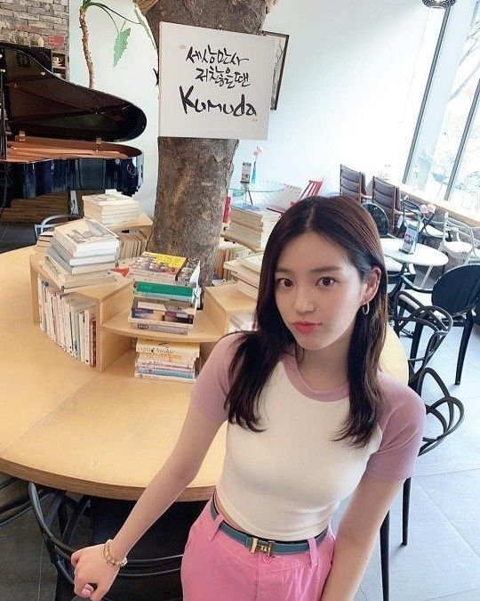 사진=이유비 SNS
