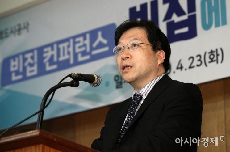 [포토] 환영사하는 김세용 사장