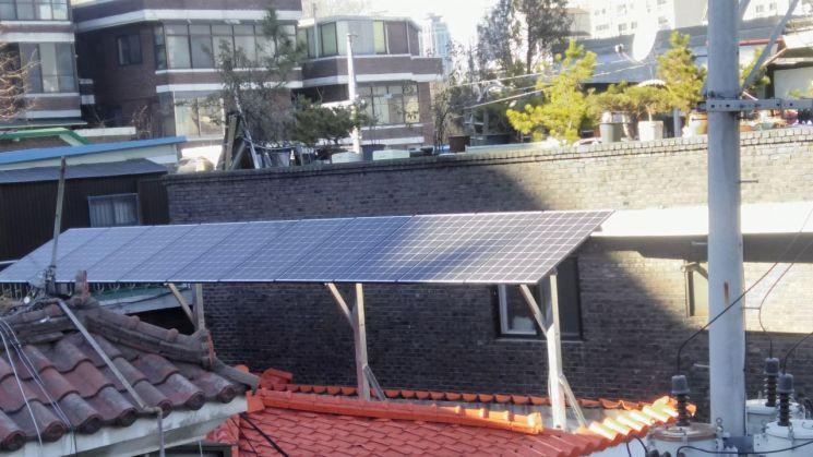 동작구, 태양광 미니발전소 설치비 지원