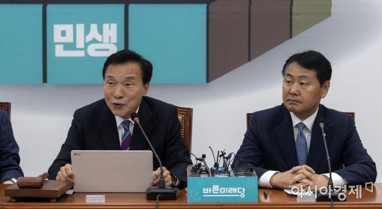 [포토] 모두 발언하는 손학규 대표