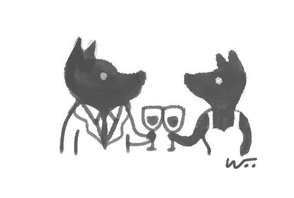 [오후 한 詩]포커 치는 개들/김상미
