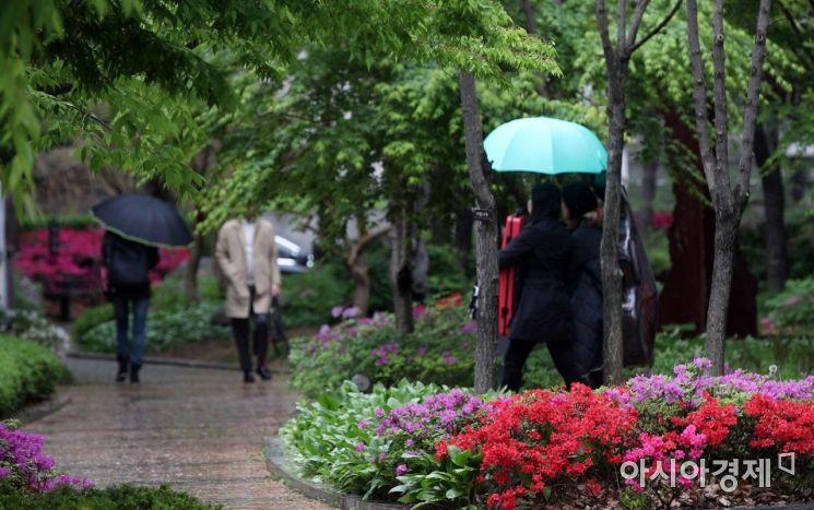 [포토] 비 내리는 서울