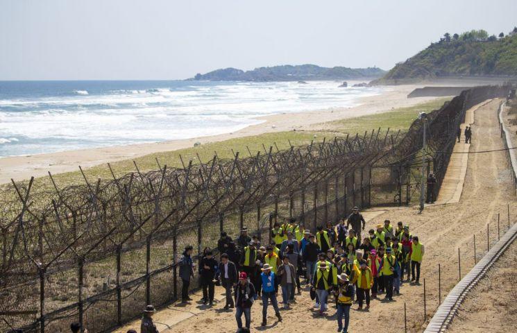 강원도 고성군 DMZ 평화의 길 일대<이미지출처:연합뉴스>