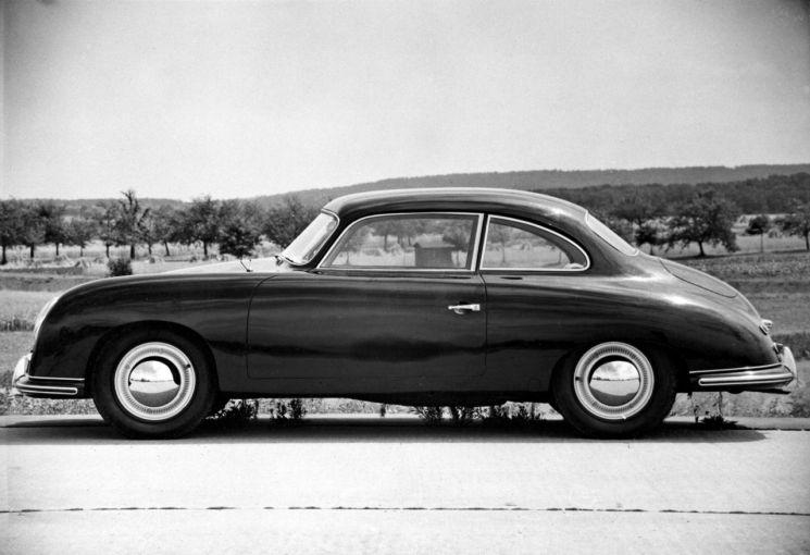 포르쉐 356 기반 최초의 4인승 프로토타입(1950s)