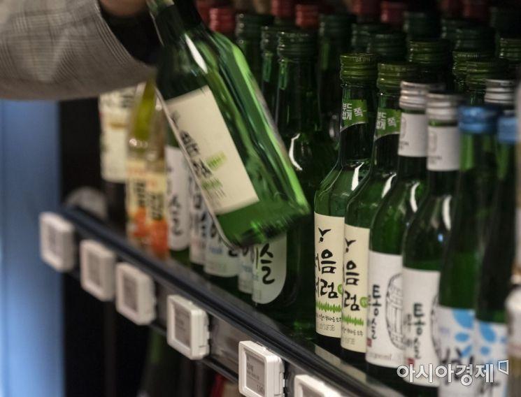 [포토] 다음달 소주값 '인상' 예고