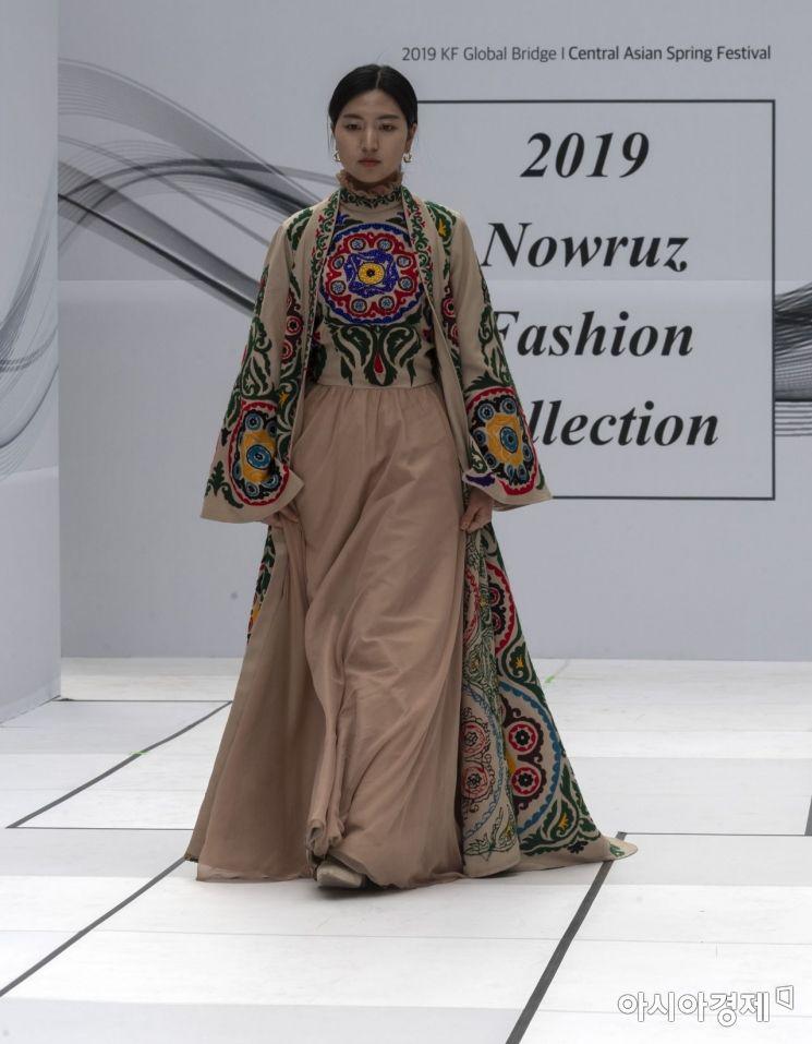 [포토] 중앙아시아 전통의상 패션쇼