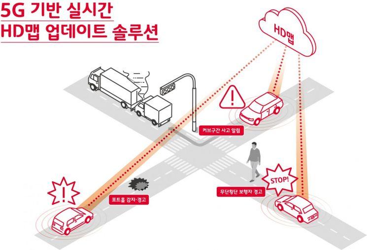 서울 '버스·택시' 5G로 더 안전해진다