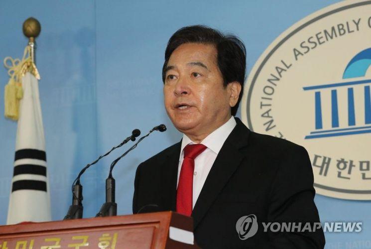 심재철 자유한국당 의원.사진=연합뉴스