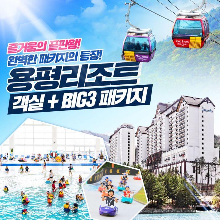 현대홈쇼핑, 용평리조트 빅3+숙박권 결합상품 출시