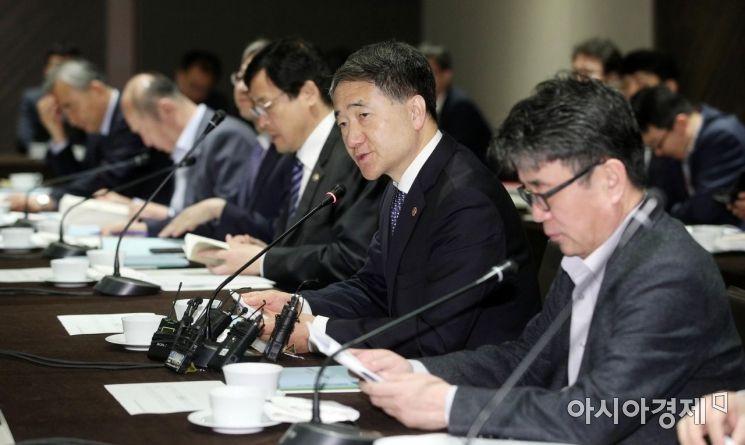 [포토] 모두발언하는 박능후 복지부 장관
