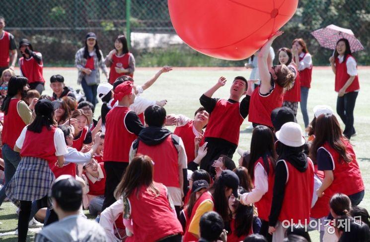 [포토] 중앙대 외국인 유학생 체육대회