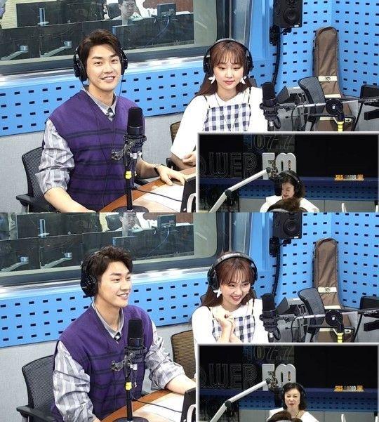 오는 6일 첫 방송되는 SBS 드라마 '초면에 사랑합니다'에서 주연을 맡은 진기주와 김영광이 출연해 각자의 매력을 뽐냈다/사진=SBS 파워FM '최화정의 파워타임' 화면 캡처
