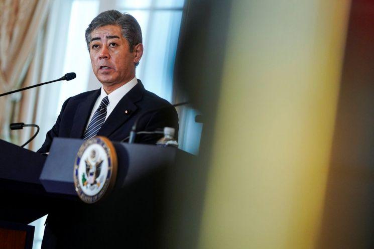 이와야 다케시(岩屋毅) 일본 방위상.(사진=로이터연합뉴스)