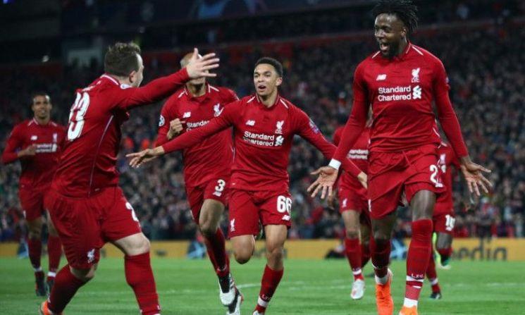 리버풀은 8일 오전(한국시간) 영국 리버풀 안필드에서 열린 2018-2019 유럽축구연맹(UEFA) 챔피언스리그 4강 2차전 홈경기에서 바르셀로나를 4-0으로 누르고 2시즌 연속 결승 진출에 성공했다./사진=리버풀 공식 홈페이지 캡처