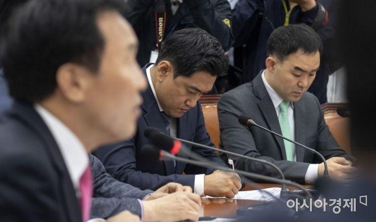 [포토] 최고위 참석한 오신환 의원