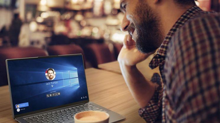 레노버, 사용자 얼굴인식 AI 노트북 '요가 S940' 출시