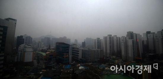 서울시 오후 9시 초미세먼지 17㎍/㎥…오후 2시 주의보 해제