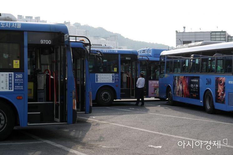 [포토]전국 버스 멈추나?