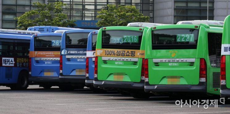 [포토]버스 총파업 하루 앞으로