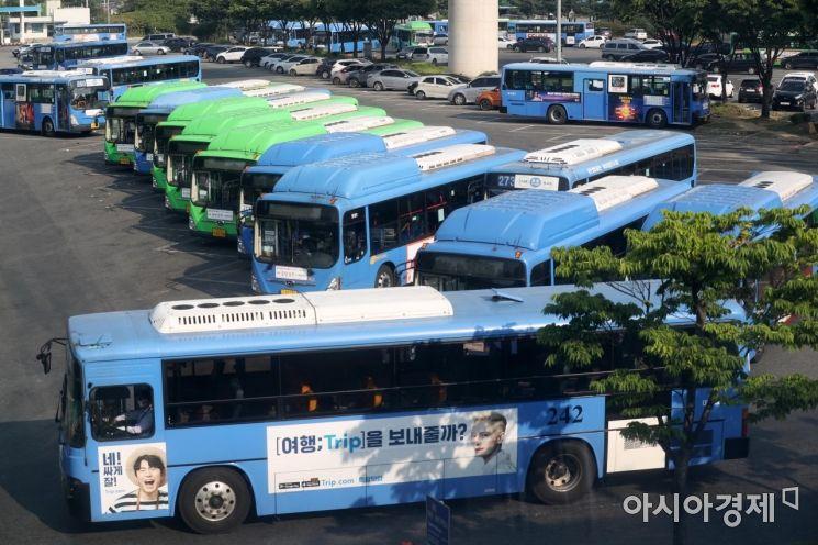 [포토]버스 파업 D-1