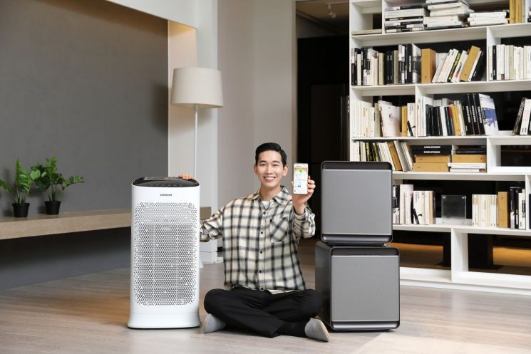 삼성전자, 실내 공기질 통합 관리한다
