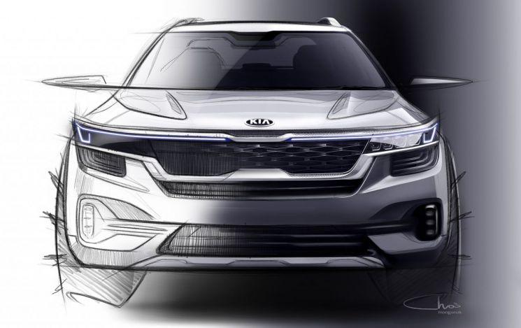 기아차가 올해 하반기 출시하는 '하이클래스 소형 SUV'의 첫 외장 렌더링 이미지를 공개했다.(사진=기아차)