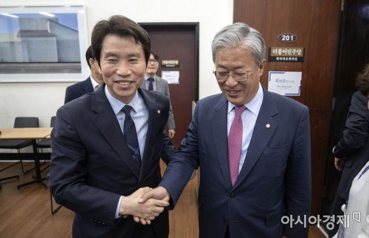 [포토] 더불어민주당 찾은 유성엽 신임 원내대표