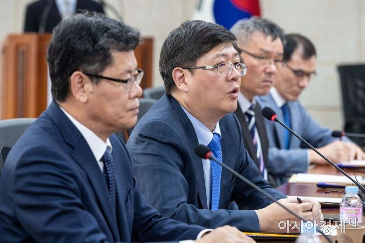 [포토]발언하는 김홍걸 민화협 대표상임의장
