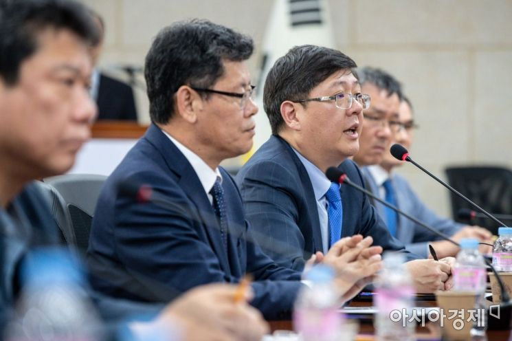 [포토]모두발언하는 김홍걸 민화협 대표상임의장