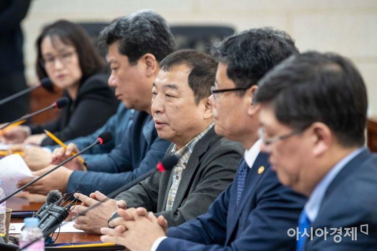[포토]발언하는 박창일 평화300 운영위원장