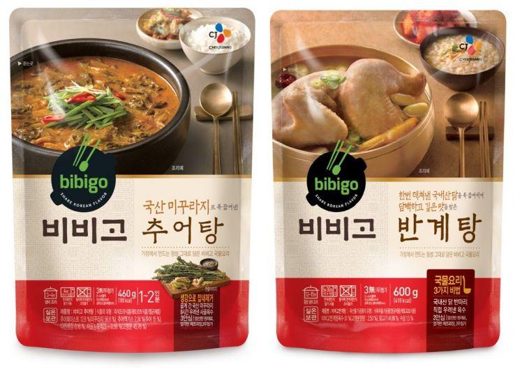 CJ제일제당, 추어탕·반계탕 등 '비비고 국물요리' 여름보양식 출시